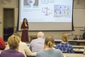 "Tahereh Ziglari, Research Update Seminar, April 2017 | ""Contribution of Nanoparticle-Induced Membrane Pore Formation in Various Models of Cell Toxicity"""